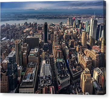 Manhattan, Ny Canvas Print