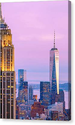 Manhattan Romance Canvas Print