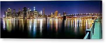 Manhattan Skyline - Southside Canvas Print