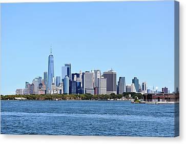 Manhattan Skyline 1 Canvas Print