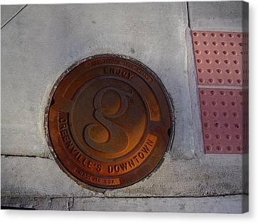 Manhole I Canvas Print by Flavia Westerwelle