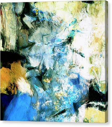 Canvas Print featuring the painting Manifestation by Dominic Piperata