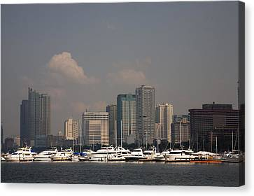 Manila Bay.  Canvas Print