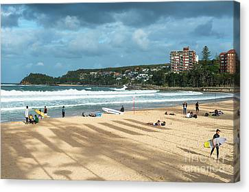 Manley Canvas Print - Manly Beach by Andrew Michael