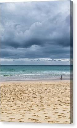 Canvas Print - Manly Beach by Steven Richman