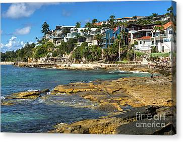 Manley Canvas Print - Manly Seafront by Andrew Michael