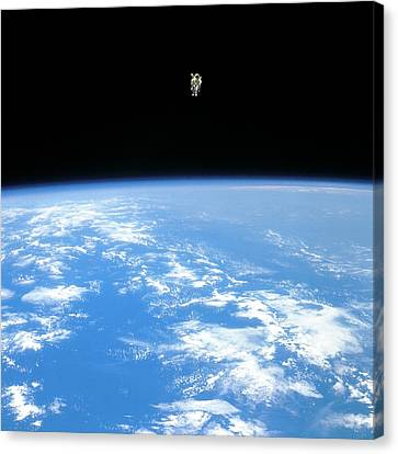 Manned Maneuvring Unit Space Walk, 1984 Canvas Print by Nasa