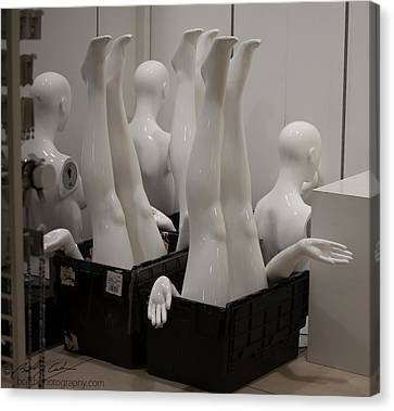 Mannequins Canvas Print by Beverly Cash