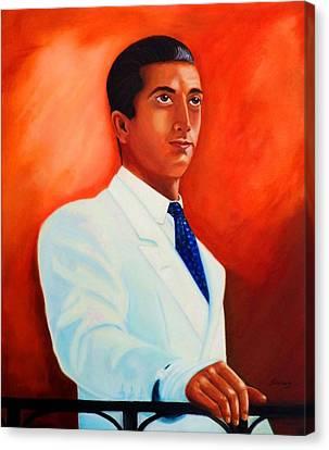 Manolete El Hombre Canvas Print by Manuel Sanchez