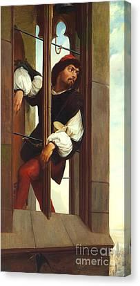Manrico Imprisoned  Canvas Print by MotionAge Designs