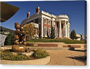 Mansion Hunter Museum Canvas Print by Tom and Pat Cory