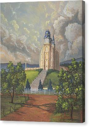 Manti Summer Canvas Print by Jeff Brimley