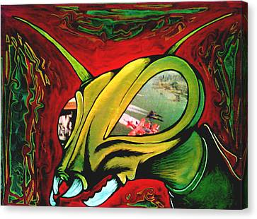 Mantis Canvas Print by Jeff DOttavio