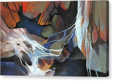 Mantled Epoch Canvas Print by Rae Andrews