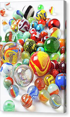 Many Marbles  Canvas Print by Garry Gay