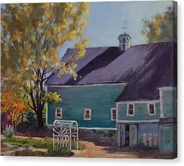 Maple Hill Farm Canvas Print