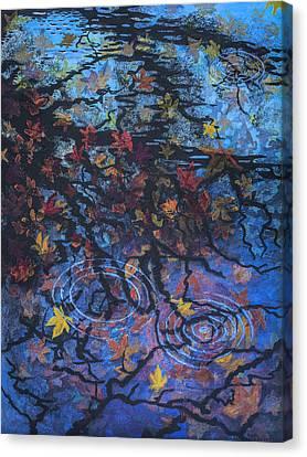 Maple Sky Canvas Print