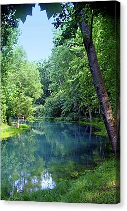 Maramec Springs 2 Canvas Print by Marty Koch