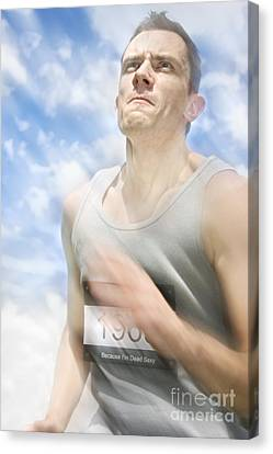 Marathon Motions Canvas Print by Jorgo Photography - Wall Art Gallery