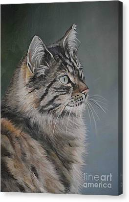 Marble Canvas Print by Charlotte Yealey