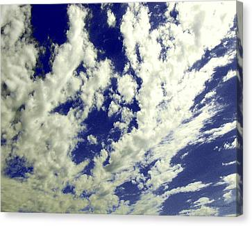 Marbled Sky Canvas Print