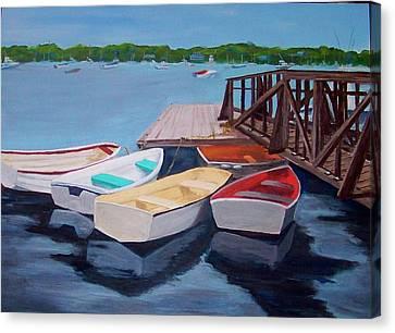Marblehead Yacht Club Canvas Print