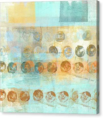 Modern Canvas Print - Marbles Found Number 3 by Carol Leigh