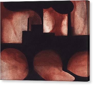 Marcal Abstract Canvas Print