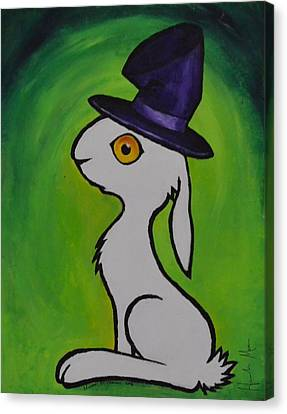 March Hare Canvas Print - March Hare by Hannah Mann