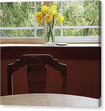 Canvas Print featuring the photograph March by Laurie Stewart