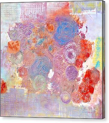 Marche Au Fleurs Canvas Print