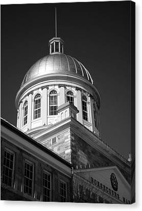 Marche Bonsecours  Canvas Print by Juergen Weiss