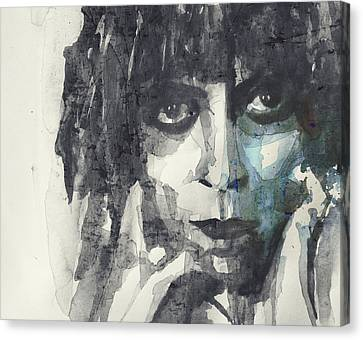 Canvas Print featuring the painting Marchesa Casati  by Paul Lovering