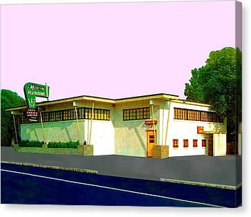 Marconi's Restaurant Canvas Print