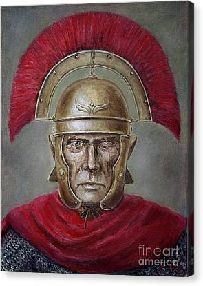 Marcus Cassius Scaeva Canvas Print by Arturas Slapsys