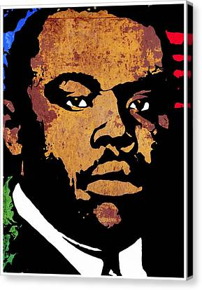 Orator Canvas Print - Marcus Garvey 2 by Otis Porritt