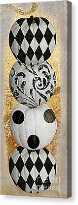 Mardi Gras Halloween Canvas Print by Mindy Sommers
