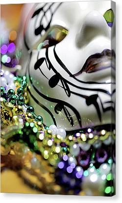 Mardi Gras I Canvas Print by Trish Mistric