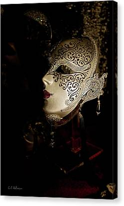 Mardi Gras Mask Canvas Print by Christopher Holmes