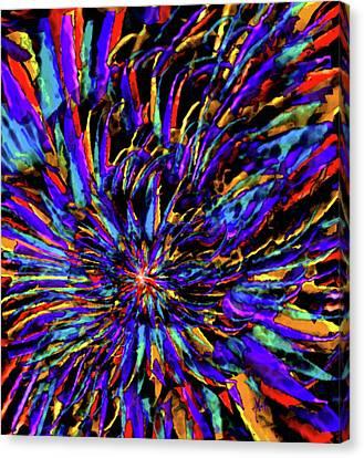 Mardi Gras Canvas Print by Michele Avanti
