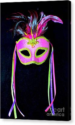 Mardi Gras No 3 Canvas Print by Mary Deal