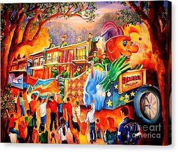 Mardi Gras With Endymion Canvas Print by Diane Millsap