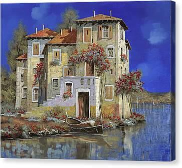 Mareblu' Canvas Print by Guido Borelli