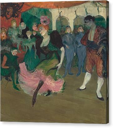 Marelle Lender Dancing In The Bolero In Chilperic Canvas Print