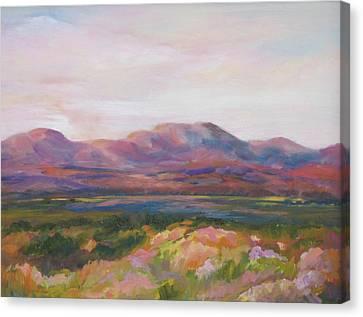 Marfa Skies /sold Canvas Print