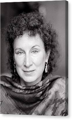 Margaret Atwood Canvas Print by Shaun Higson