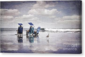Margate Beach Relaxation Canvas Print