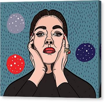Maria Callas Canvas Print
