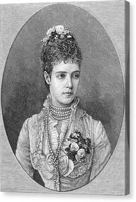 Maria Fyodorovna Canvas Print by Granger
