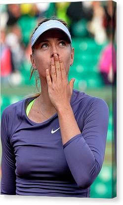 Maria Sharapova Canvas Print - Maria Sharapova Tennis Player Tennis Sportsman 96626 640x960 by Anne Pool